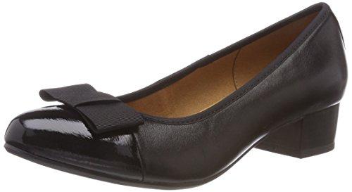 Caprice 22303, Escarpins Femme Noir (Blk Nappa Comb 26)