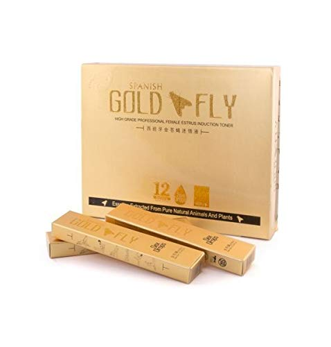 Spanish Gold Fly Women Sex Drops Liquid Booster - 12 Saches