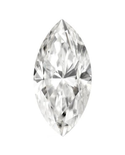 (11 x 5.5 MM Marquise Cut Forever Brilliant® Moissanite by Charles & Colvard 57 Facets - Very Good Cut (1.30ct Actual Weight, 1.40ct. Diamond Equivalent Weight))