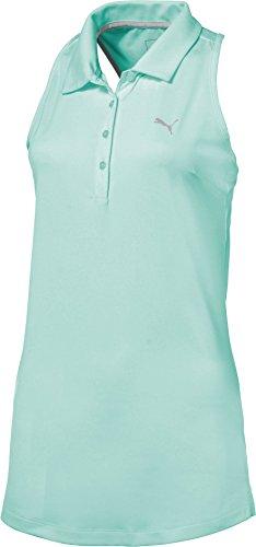 驚いた幸運懐疑論プーマ トップス シャツ PUMA Women's Racerback Golf Polo ArubaBlue [並行輸入品]