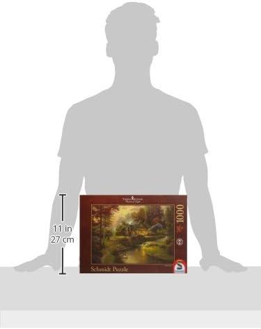 1000-Piece Schmidt Spiele 58464 Peaceful Evening Puzzle
