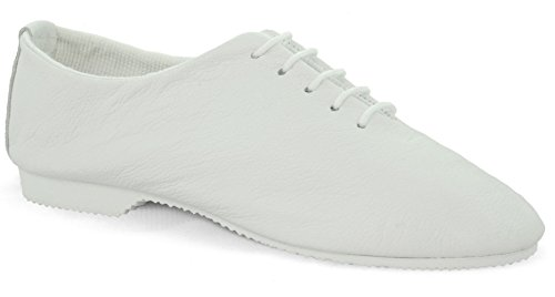 Sole Leather Gear Shoes White Jazz JSR Dance Full YIqw7Eqd