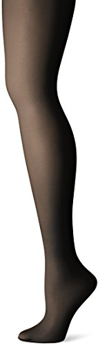 Just My Size Women's Shaper Panty Hose, Jet Black, 4X (Just My Size Pantyhose Sheer Toe)