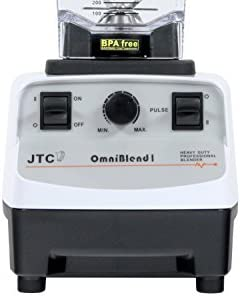 JTC Omniblend licuadora/batidora, color blanco leche 1,5 l 2238 W ...