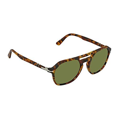 3d0fcc5f5 Persol Sunglasses For Men, Green PO3206S 10524E 54 54 mm: Amazon.ae