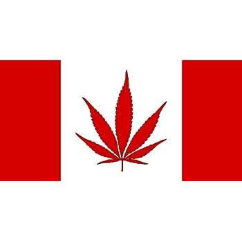 Amazon Com Neoplex 3 X 5 Canada Marijuana Flag Weed
