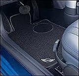 MINI COOPER Genuine Factory OEM 82110396133 Cooper  Black Carpet Floor Mats 2003 - 2008 (complete set of 4 mats)