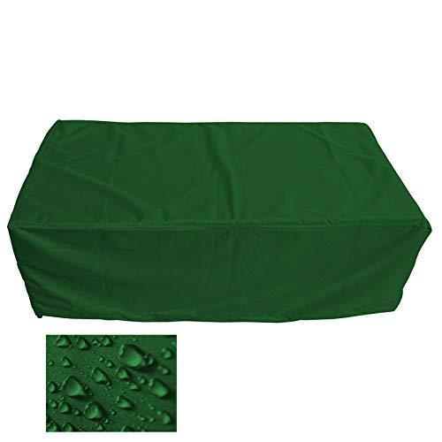 Holi Europe Premium Gartenmöbel Schutzhülle Garten Abdeckung 200cm x 100cm x 75cm Tannengrün