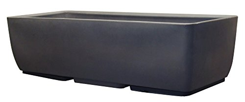 (RTS Home Accents 36-Inch Elevated Planter, Body Only, Graphite Color)