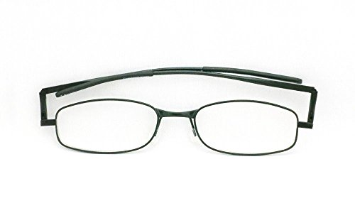 Compact Lenses - Folding Reading Glasses - Jet - Glasses German Reading