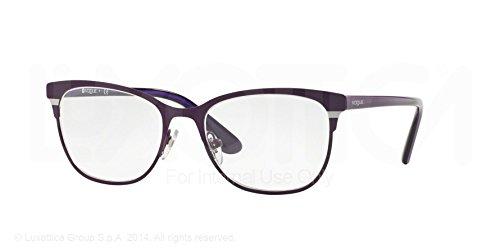 Vogue Eyeglasses VO3963 897S Matte Brushed Violet 51 18 - Glasses Vogue Optical Price