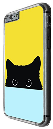 1163 - Cute Half Cat Face Design For iphone 5 5S Fashion Trend CASE Back COVER Plastic&Thin Metal -Clear