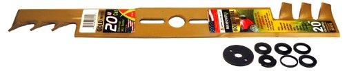 Maxpower 331980S 20-Inch Universal Gold Metal Mulching Lawn Mower Blade ()