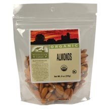 Woodstock Farms Organic Raw Almond, 7.5 Ounce - 8 per case.