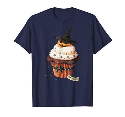 (Yummy Halloween Cupcake Pumpkin T-Shirt)