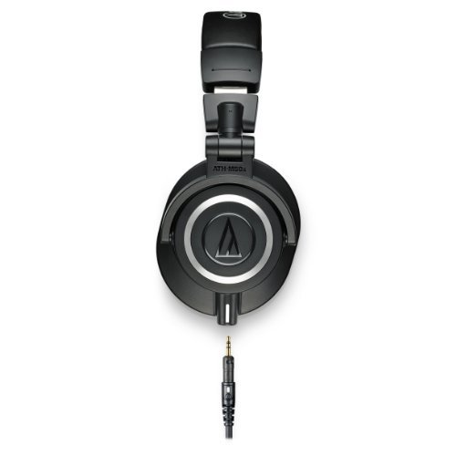 Audio-Technica ATH-M50x Professional Studio Monitor Headphones (Renewed) Audio Technica Lightweight Headphone