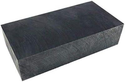 SOFIALXC-Block-Lingots Mit Graphit-Pureté 99,9%, Graphit-Erodier-Fraisage-Vergrößerungs-Utilisés Dans La Métallurgie Électronique (100Mmx50mmx25mm)