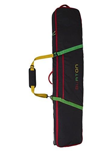 Snowboard Burton Board Bag Sack - Burton Wheelie Gig Snowboard Bag, Rasta W19, 166 cm