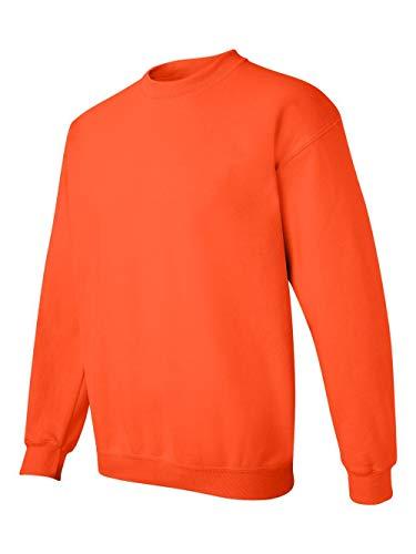 Gildan Men's Heavy Blend Crewneck Sweatshirt - 3X-Large - Orange