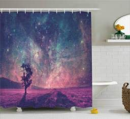 Ambesonne Multicolor Shower Curtains
