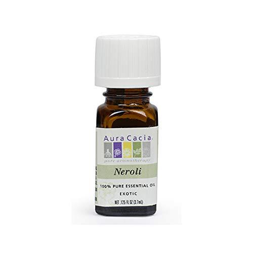 B00076XUHM Aura Cacia Pure Neroli Essential Oil | 0.12 fl. oz. 31j2BeZ6QMqL