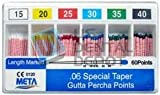 META - Gutta Percha Points Color Coded .06 Taper Spill Proof 107630 Us Depot