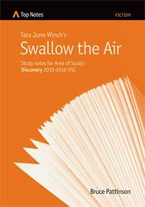 notes on Tara June Winch's Swallow the Air - for Area of Study Discovery 2015-2018 HSC
