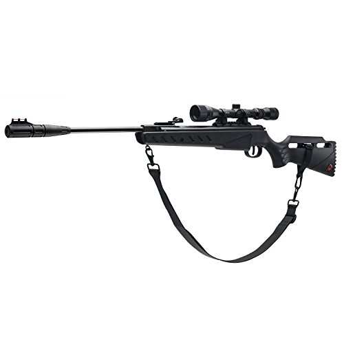 Ruger Targis Hunter .22  Caliber Pellet Air Gun Combo, Black (Cal Rifle Air Barrel)