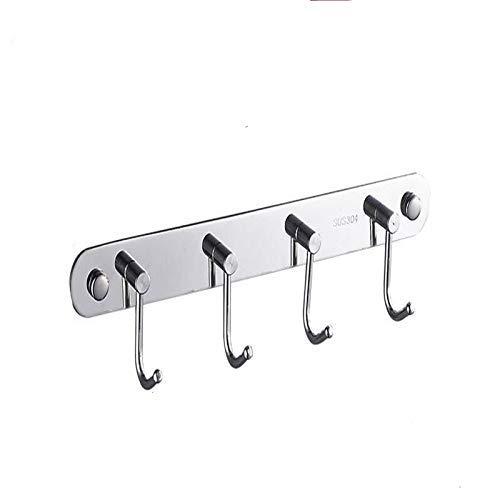 Yjkegjvdgf Stainless Steel Hook Free Punching Kitchen Hook Bath Hook, Towel Hook (Size: 50.7cm) (Color : -, Size : 26.9cm) by Yjkegjvdgf (Image #1)