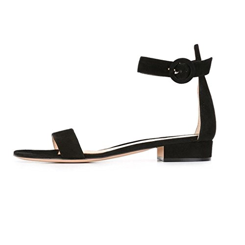 elashe - Tira de tobillo Mujer negro
