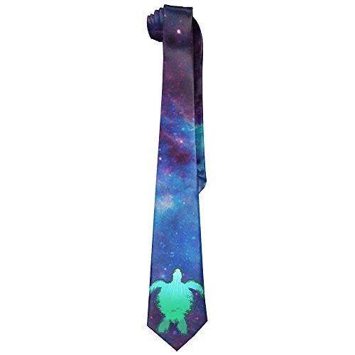 Sea Turtle Men's Tie Long Necktie Skinny Neckwear ()
