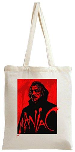 bloody Bag Tote Bag Maniac poster bloody Maniac Tote poster HazXwqwx