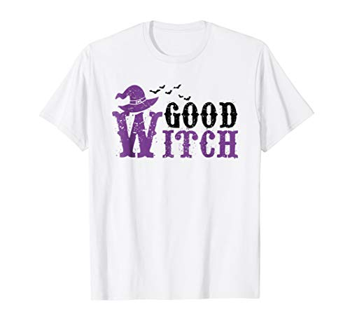 Matching Set Funny Good Bad Witch Costume Shirt Gift]()