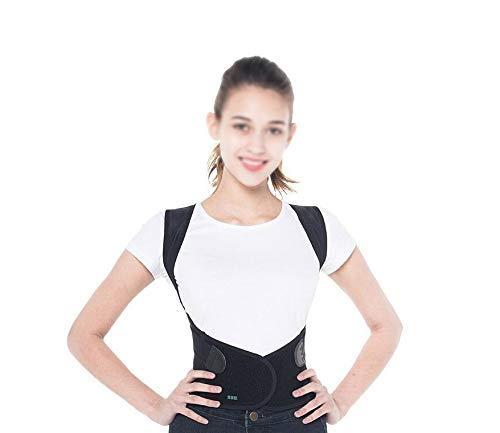 (1949shop Back Brace Posture Corrector,Shoulder Support for Pain Hunchback Corrector with Adult Children and Men and Women Spine Column Anti-Humpback Black Correction Belt (Size : XL) )
