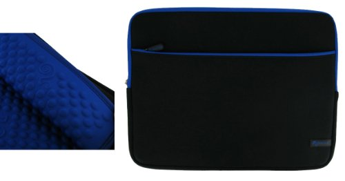 roocase-116-laptop-sleeve-laptop-neoprene-sleeve-case-notebook-bag-water-resistant-black-with-blue-t