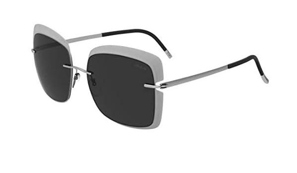 Silhouette Gafas de Sol Accent Shades 8165 Transparent Grey ...