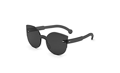 Super Sunglasses Women's Tuttolente Lucia Sunglasses, Black/Black, One - Sunglasses Lucia