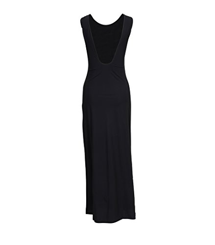 Open Schwarz Damen K Tank Back Kleid in 1433 Filippa Black wKRgqtOSO