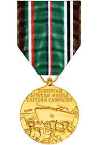 Medals of America ヨーロッパ アフリカ 中東 メダル 陽極酸化処理 B07PJVFKG2