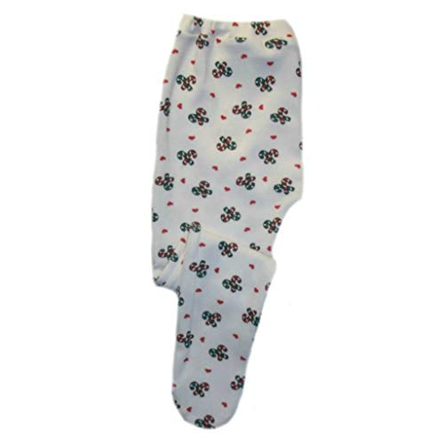 Jacqui's Baby Girls' Candy Cane Love Christmas Tights, 3-6 ()