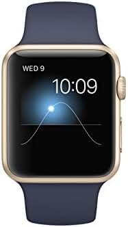 Apple 42mm Smart Watch - Aluminum /Midnight Blue Sport Band