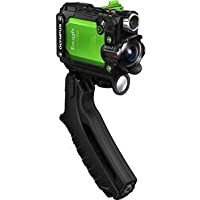 Olympus America Inc. V104180EU000 TG Tracker Digicam 4K Green Waterproof Sports Digicam 4K Video