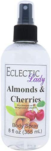 Almonds And Cherries Body Spray, 8 ounces