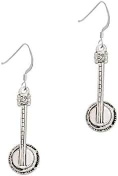 Banjo French Earrings