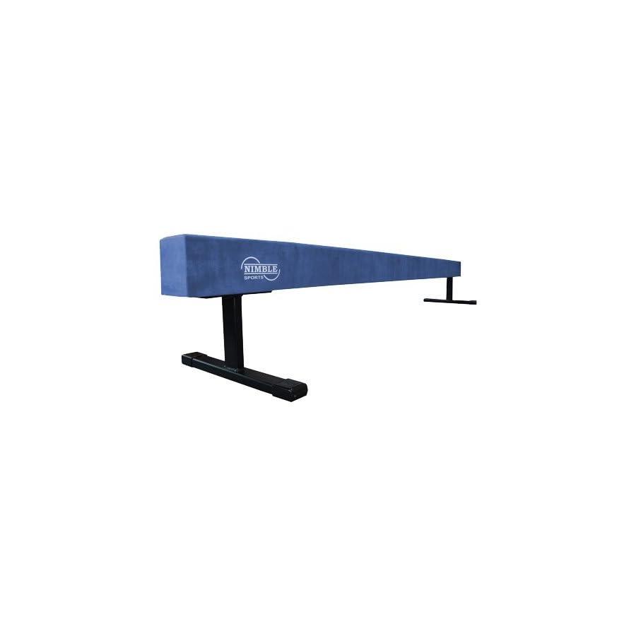 Nimble Sports Blue Suede 8 Feet Long 12 Inch High Balance Beam