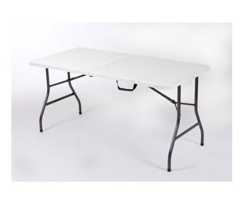 Price comparison product image Mainstays 5' Centerfold Table,  White