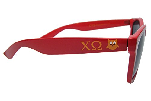 Chi Omega Sorority Sunglasses Greek Beach Sunny - Sunglasses Sorority