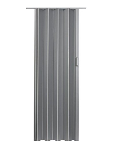 LTL Home Products EL4880S Elite Interior Accordion Folding Door, 48'' x 80'', Satin Silver by LTL Home Products