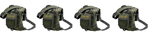 Allen Bear Creek Micro Fishing Chest Vest, Olive Small Fly Fishing Chest Vest (Pack of ()