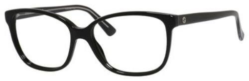 Gucci eyeglasses GG 3724 Y6C Acetate Black - Silver